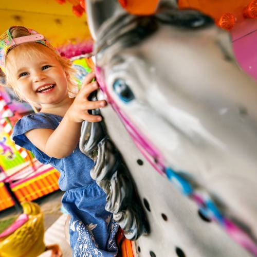 Adventure Fairground plus Indoor Play Tickets (Weekends only)